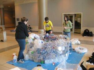 Plastic Bottle Igloo RecycleMania 2011 (4).jpg